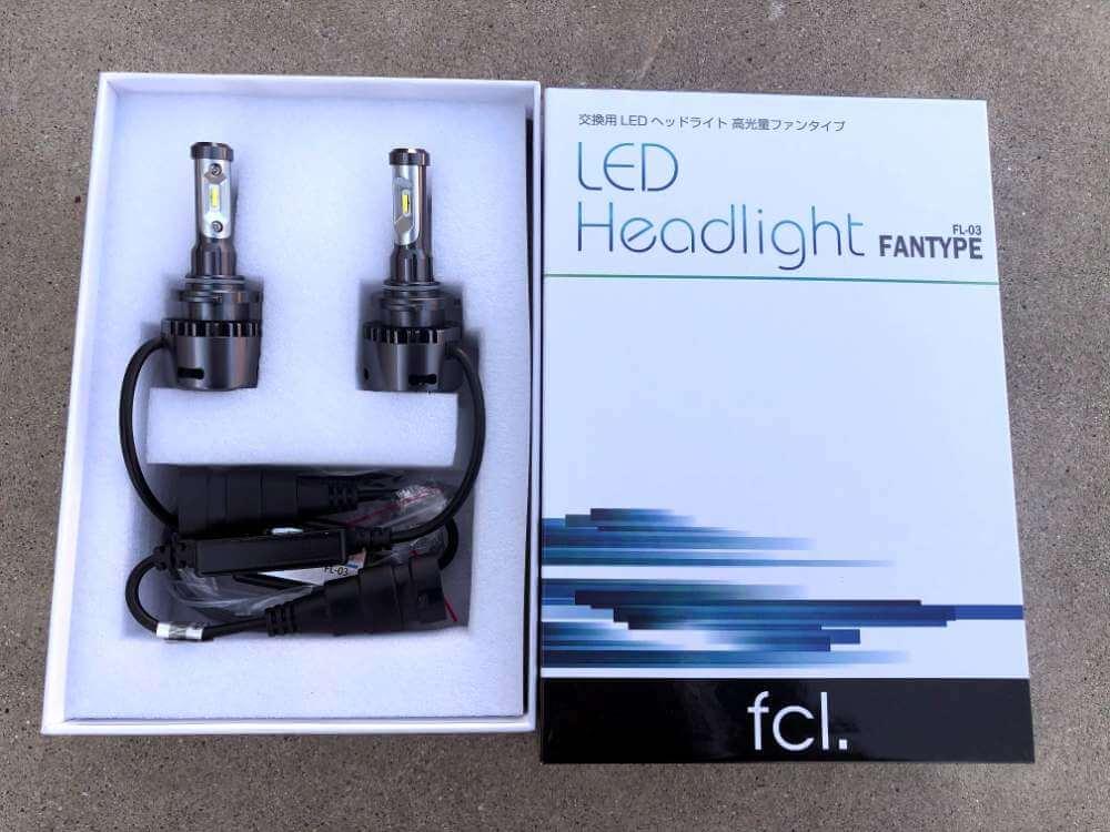 fcl.LEDヘッドライト/フォグランプ ファン付