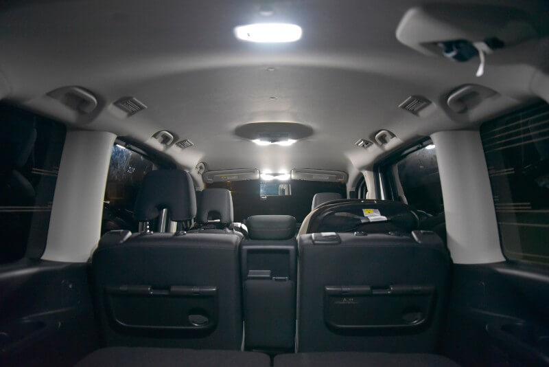 交換後 LEDライプの点灯
