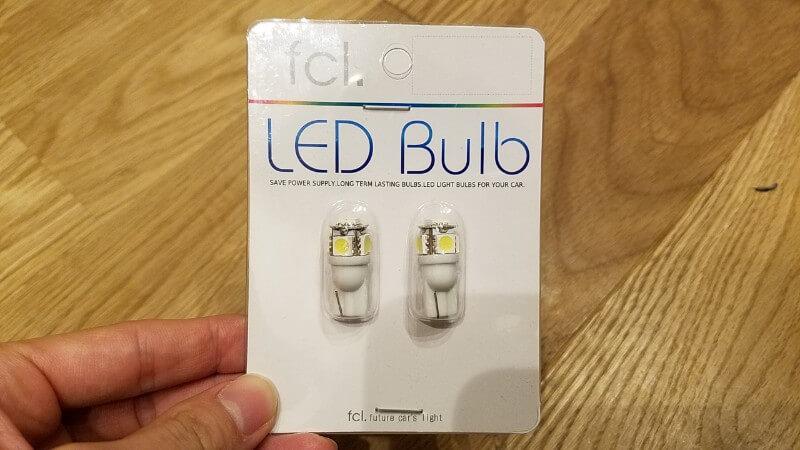 LEDバルブ T10 5連SMD