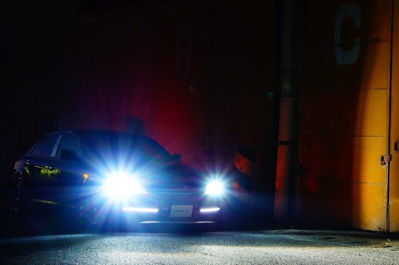 マークX GRX120 取り付け後55W点灯