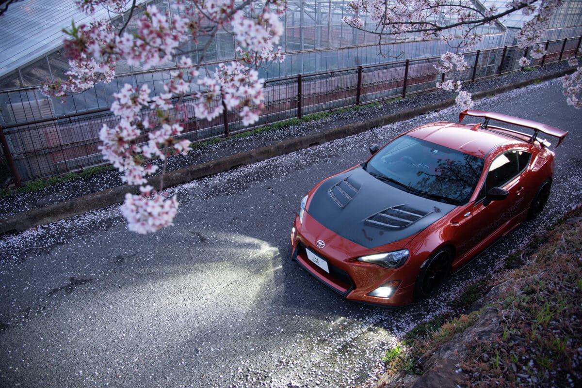 トヨタ86_fcl.2色カラーチェンジバルブ点灯
