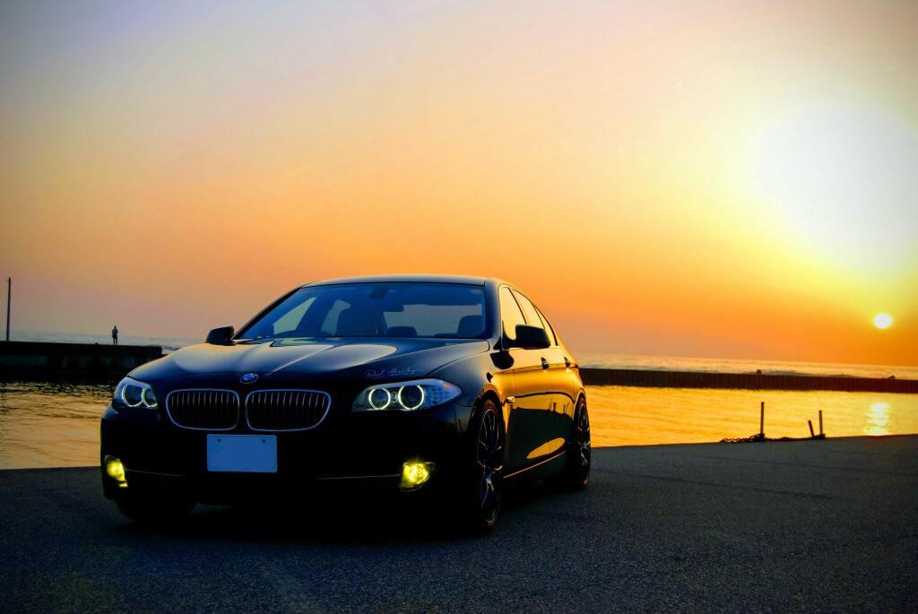 BMW F10 523i フォグランプをLED化