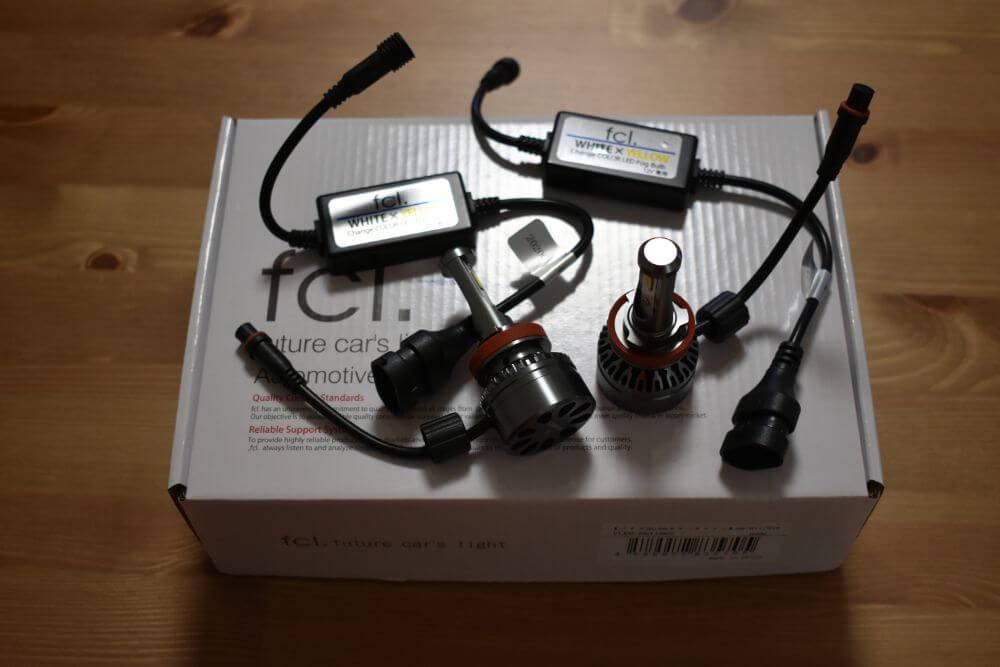 カラーチェンジLEDバルブ (H8/H11/H16 ・HB4・PSX26W)
