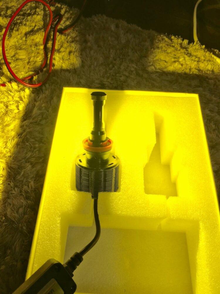 fcl.LEDヘッドライト/フォグランプ 点灯確認