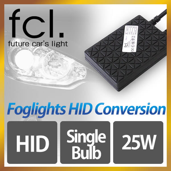 fcl. 25W Single Beam HID Xenon Conversion Kit [for Fog Lights]