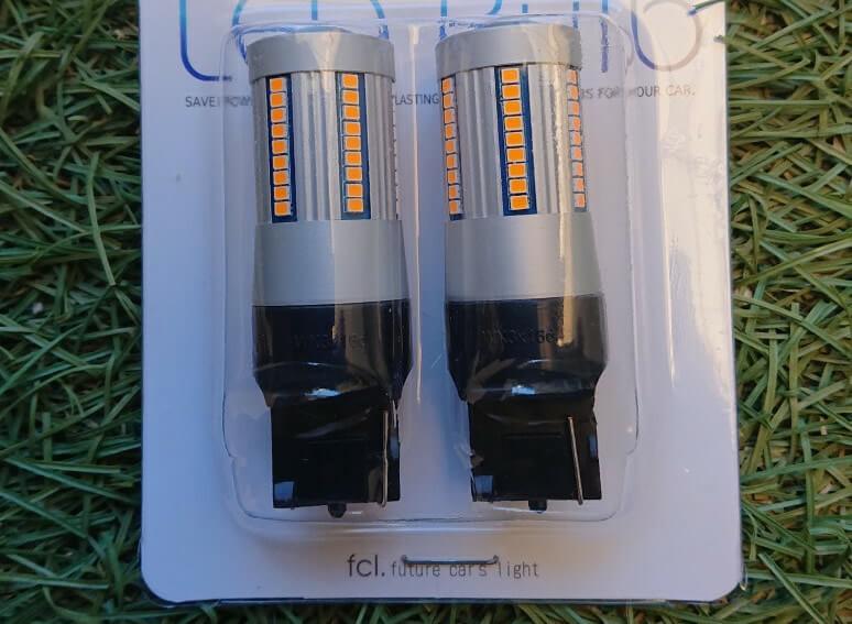 fcl.LED T20 ピン部違い 抵抗内蔵LEDバルブ