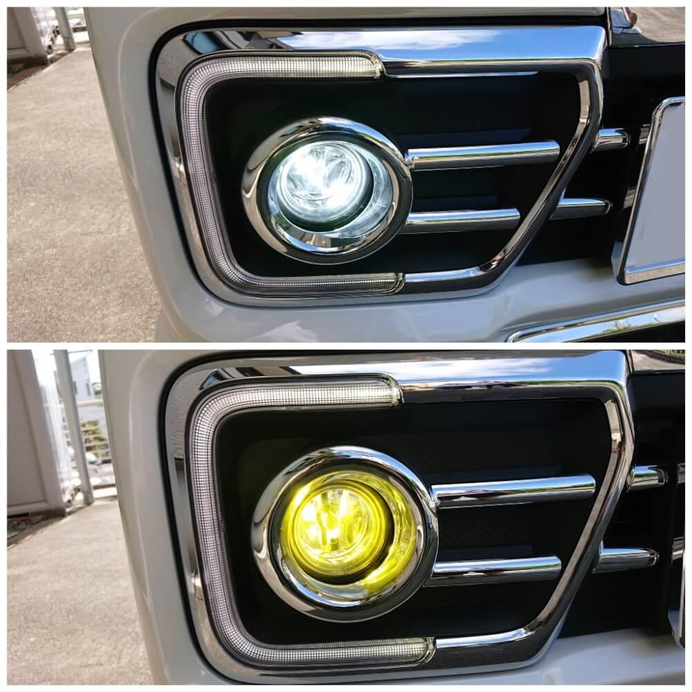 fcl.2色カラーチェンジLEDバルブ 点灯チェック