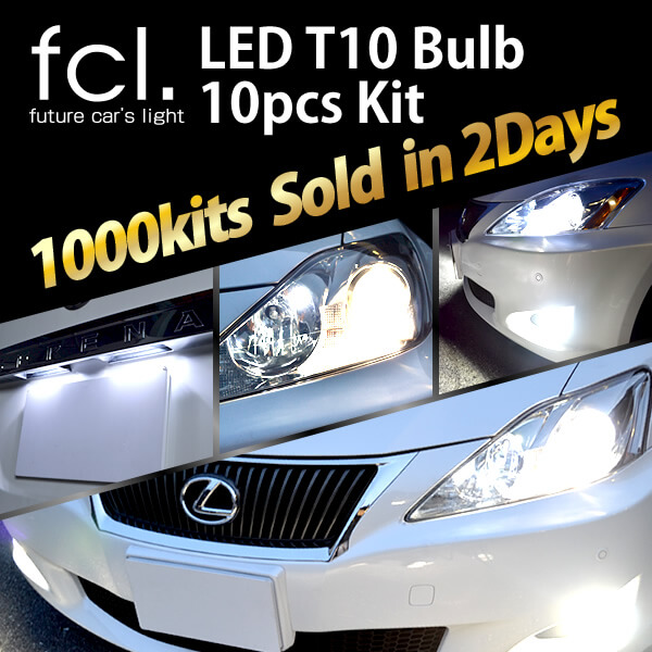 Very Easy to install ! LED T10 Lights